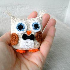 Crochet Amigurumi Owl - The Tuxedo Owl