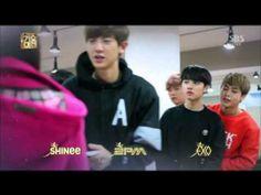 140101 Music Drama 1-1 Exo 2PM Shinee TaeMin Apink Naeun Girls Day Mina 샤이니 에이핑크 태민 손나은 걸스데이 민아