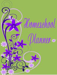 Free homeschool planner pages. Printable