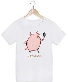 Instaham als Frauen T-Shirt von Sophie Corrigan | JUNIQE