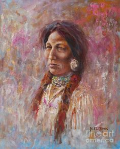 Sacajawea Painting by Neil Jones kK