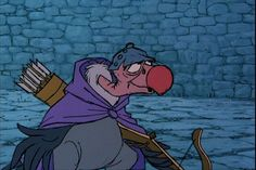 Nutsy - Robin Hood Disney Films, Walt Disney, Pixar, Brian Bedford, Robin Hood 1973, Shakespeare In The Park, Maid Marian, Childhood Characters, Love Is Gone