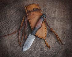 Belt Knife, Knife Sheath, Knife Handles, Leather Carving, Mountain Man, Hand Forged Knife, Bushcraft Knives, Custom Knives, Custom Leather
