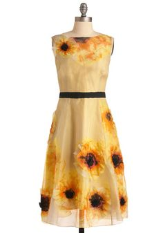 Tracy Reese Floral All Time Dress - I'm not really into floral and I would never wear it, but I am fascinated by this dress.