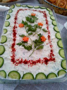 Handanın Tarifleri: Yoğurtlu Soğuk Salata Tarifi