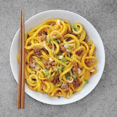 "Chow Mein Zoodles ""炒瓜麵"""