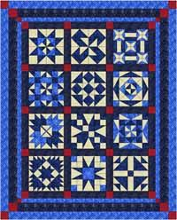 Ooh-Rah Block of the Month Quilt Kit from QuiltandSewShop.com