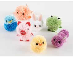 The best thing about these Pom Pom Crafts for Kids is that they are also incredibly easy to make. Now, if you love crafts and pom poms equally, then you Kids Crafts, Crafts For Teens To Make, Cute Crafts, Easter Crafts, Crafts To Sell, Diy And Crafts, Preschool Crafts, Yarn Animals, Pom Pom Animals
