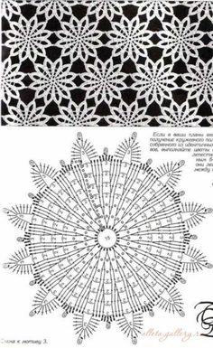 Breathtaking Crochet So You Can Comprehend Patterns Ideas. Stupefying Crochet So You Can Comprehend Patterns Ideas. Crochet Motif Patterns, Crochet Doily Diagram, Crochet Mandala, Crochet Chart, Crochet Squares, Thread Crochet, Crochet Designs, Crochet Doilies, Crochet Flowers
