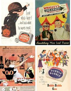 Orange Life Savers Vintage Halloween Candy Ads Lemon PEZ Necco Wafers Cryst-O-Mint Life Savers Chiclets Maltesers Reese's Peanut Butter Cups Mr. Vintage Candy, Vintage Holiday, Vintage Love, Vintage Images, Vintage Posters, Retro Vintage, Vintage Sweets, Wedding Vintage, Vintage Modern
