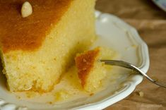 Greek Sweets, Greek Desserts, Afternoon Tea, Cornbread, Diy And Crafts, Dinner Recipes, Food And Drink, Cooking Recipes, Pudding
