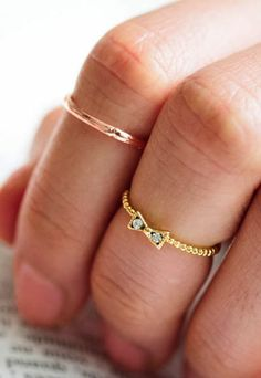 Knuckle Ring | Gold | Middie Ring