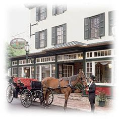 Built in 1722 as a tavern, the Logan Inn and its spirits are legendary in the Colonial-era town of New Hope, PA.