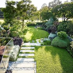 Slope Backyard landscaping