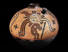 Pre-Columbian: Terracotta Vessel, Peru