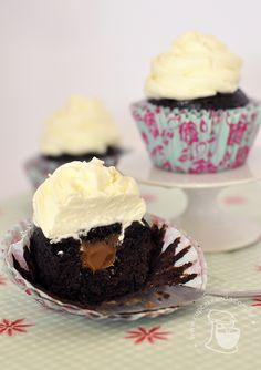 Cupcakes de chocolate, com maionese | Cupcakeando
