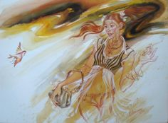 Elen Zelin...Sanatçı ressam Elen Zelin Odessa, Karadeniz ve eski Sovyetler Birliği kıyılarında önemli kültürel merkezlerinden biri doğdu. Erken yaşlardan itibaren Odessa Sanat Okulu'nda Görsel Sanatlar temel ilkelerini okudu. 1978 yılında Güzel Sanatlar ve Grafik bölümünden, Odessa Pedagoji Üniversitesi'nden mezun oldu. 1989 yılından bu yana Yunanistan'da çalıştı. Eserleri birçok galeri ve özel koleksiyonlarda bulunmaktadır.Şu anda New York'ta yaşıyor.