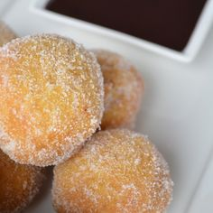 Pumpkin Spice Doughnut Holes on Foodie
