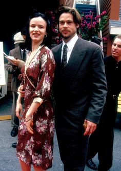Juliette Lewis was just 16 when she started dating Brad Pitt, who was 10 years older, in the '90s.
