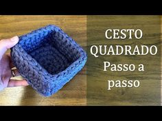 Crochet Sachet, Free Crochet, Knit Crochet, Crochet Hats, Handmade Crafts, Diy Crafts, Crochet Storage, French Nail Designs, T Shirt Yarn