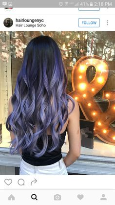 Dark Pastel Hair, Lilac Grey Hair, Lavender Hair, Purple Hair, Ombre Hair, Balayage Hair, Perfect Hair Color, Hair Color For Women, Hair Toner