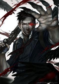 Murder of Crows by juhaihai.deviantart.com on @DeviantArt
