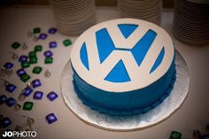 VW Cake for Vicki & Will!