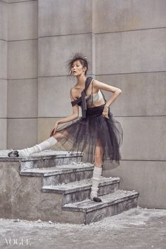 Kim Sung Hee | The Ballet Fairy | Vogue Korea | Kim Bo Sung | Ballet