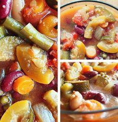 58 Calorie Crock Pot Minestrone Soup! – Simply Taralynn