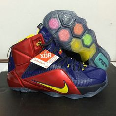 huge selection of 0a5c7 d044a Lebron 12 XII ARIZONA WILDCATS Game Royal Bright Crimson