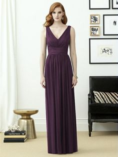 Dessy Collection Style 2955  Sample: Aubergine, size 16 $$$$