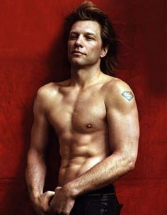 Had a crush on bon jovi since i was little and he is...STILL HOT!!!!!