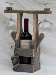 Ted's Woodworking Plans - Expert Advice On Italy Red Bottle Wedding Wine Labels Announcing: The world's Largest Collection of Woodworking Plans! - Get A Lifetime Of Project Ideas & Inspiration! Step By Step Woodworking Plans Wine Glass Holder, Wine Bottle Holders, Teds Woodworking, Woodworking Projects, Woodworking Books, Woodworking Furniture, Woodworking Machinery, Custom Woodworking, Pallet Wine