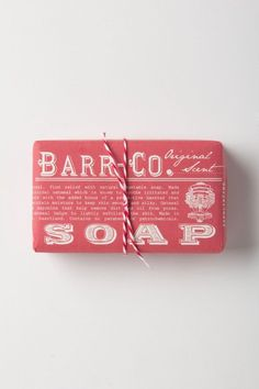 ++ Barr-Co. Soap Bar