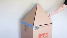 How To Make A Cardboard Rocket Ship For Your Cat Using Old Boxes | Cuteness Cardboard Crafts Kids, Cardboard Rocket, Cardboard Box Diy, Cardboard Castle, Kid Crafts, Rocket Craft, Diy Rocket, Build A Rocket, Space Baby Shower