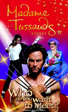 madame tussads Sydney - wax museum