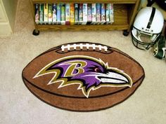 "Baltimore Ravens Football Rug 20.5""x32.5"""