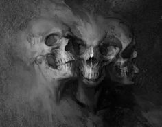 ✯..Three Faces of Death :: Artist Unknown..✯