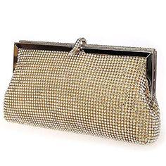 92e8f08fcca Keller New Arrival Bride Handbag Evening Clutch Wedding Bag Women Purse  Handbags-Gold * Continue