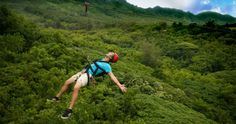 For those time when you need to let loose.  Zipline Tour   Lihue, HI   Go Do Things