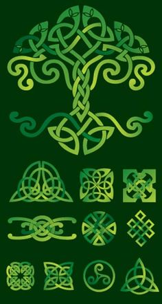 Celtic Tree of Life. Tattoo combine with Celtic knot for mother daughter in the base at roots. Celtic Quilt, Celtic Symbols, Celtic Art, Celtic Knots, Celtic Dragon, Celtic Protection Symbols, Egyptian Symbols, Ancient Symbols, Celtic Patterns