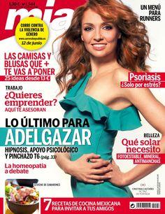 Revista #Mía 1544. Cristina Castaño en portada. ¡Lo último para #adelgazar! #Belleza, qué solar necesito.