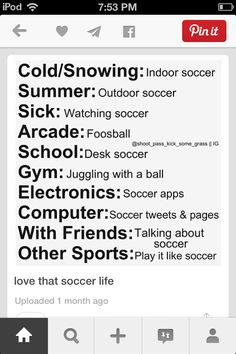 Luv the soccer life
