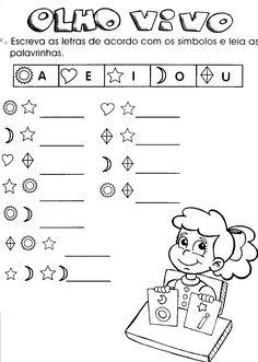 Com respeito às atividades de alfabetização infantil muitas são as formas de ensinar, mas certamente que essas formas variam de acordo com a fase do aprend