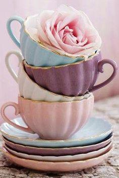 Tea Cup Fan