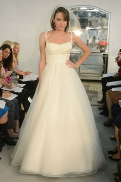 New Watters Wedding Dresses: Straps, Silhouettes, and COLORS You're Going to Be Psyched to See! : Save the Date