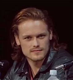 Sam Heughan could be blonde/golden Cedric Galahad