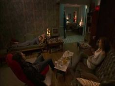 """Being Human BBC """"House meeting""""  HILARIOUS!  LOVE THIS! An example of how differently men and woman handle their feelings, until the guys show Real Hustle isn't on TV #being_human #BBC"""