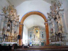 Interior da Igreja Nossa Senhora do Rosario - Paraty - Rio de Janeiro