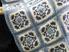 Ravelry: Square Star pattern by Anne Oakleaf